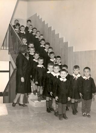 """dal libro """"La scuola di Spilamberto  in 50 anni di fotografie e racconti"""""""